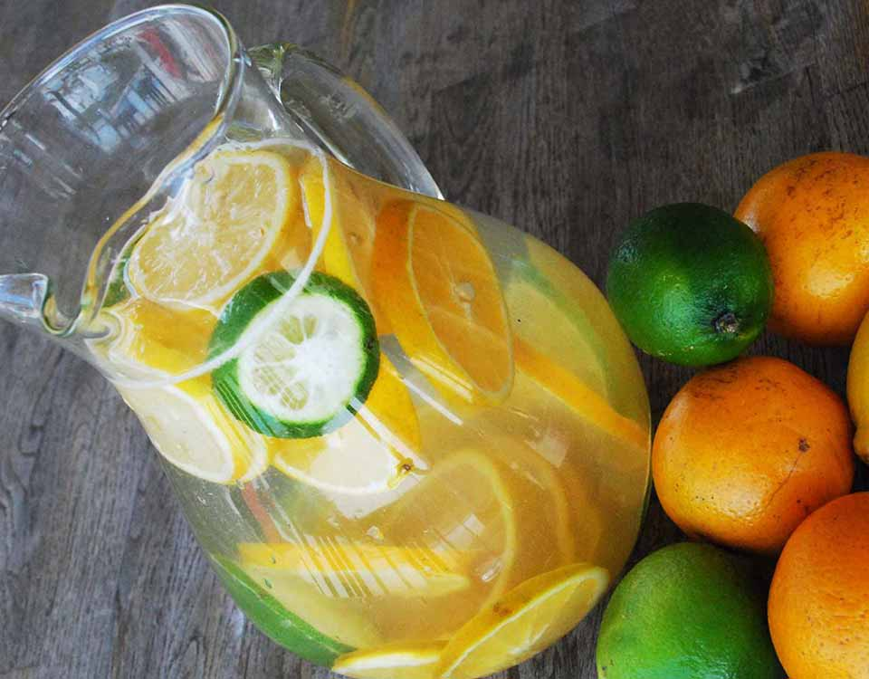 Citrus Infused Water with Sweetersorts lemon